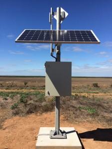 Solar Powered Wireless Links
